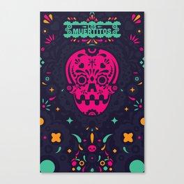 LOS MUERTITOS V01 Canvas Print
