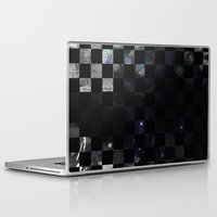 chess Laptop & iPad Skins featuring chess by Gabriele Omar Lakhal