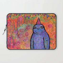 Whimsical Owl Art Laptop Sleeve