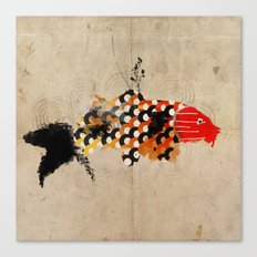 carp_koi_ink Canvas Print