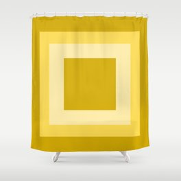 Autumn Square Design Shower Curtain