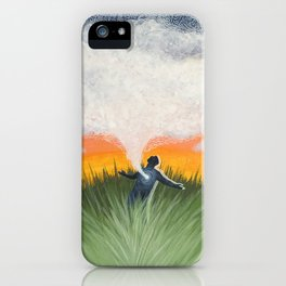 Space To Breathe iPhone Case