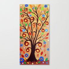 Abstract tree 4 Canvas Print