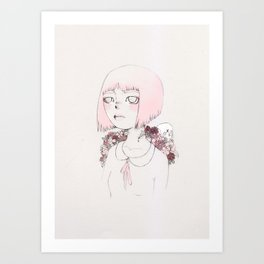 Stolen Youth Art Print