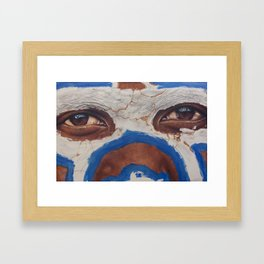 Tribal View Framed Art Print