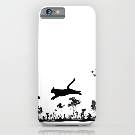 The Cat and Ink drop bombs iPhone & iPod Case