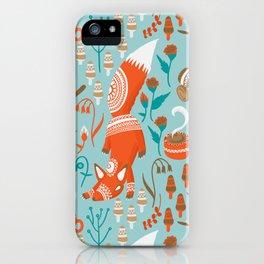 Campside Fox iPhone Case