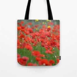 Poppy field 1820 Tote Bag
