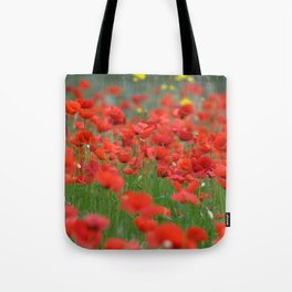 Poppy field 1820 Tote Bag