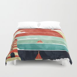 Coming Home. Duvet Cover