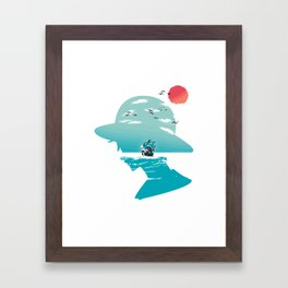 The King of Pirates Framed Art Print