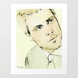 Arrow Portrait Series: Oliver Queen Art Print