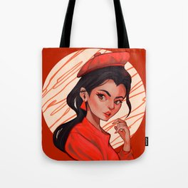 The Red Lover Tote Bag