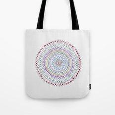 Mandala Smile B Tote Bag
