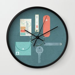 Prepared Wall Clock