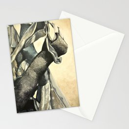 Rock Climbing Harness Stationery Cards