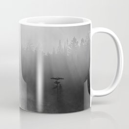 black and white and misty Coffee Mug