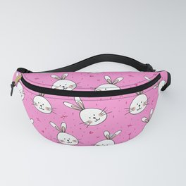 pink rabbits Fanny Pack
