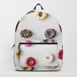Colorful Donuts Backpack