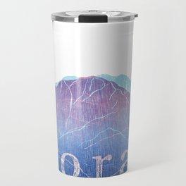 Colorado Mountain Ranges_Pikes Peak + Continental Divide Travel Mug