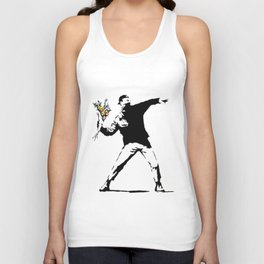 Rage Flower Thrower Unisex Tank Top