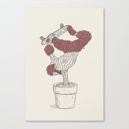 Handplant Canvas Print