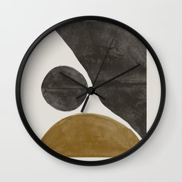 Shape Study Art Wall Clock