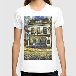 The Mayflower Pub London Van Gogh T-shirt