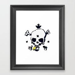 XXX Skull C Framed Art Print