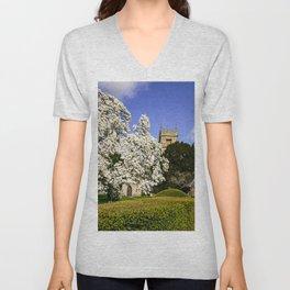 Magnificent Magnolia Unisex V-Neck