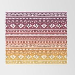 Ombré Navajo Throw Blanket