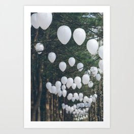 Romantic Forest Art Print
