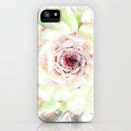 Dreaming Hens and Chicks iPhone Case
