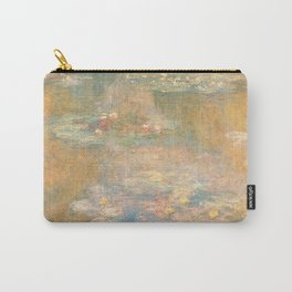 Water Lilies Claude Monet 1908 Carry-All Pouch