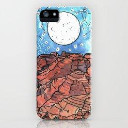 Starry Desert Dance iPhone Case