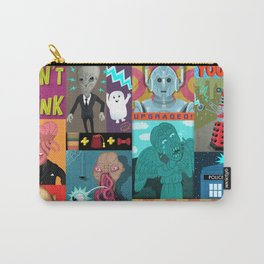 Doctor Who Monsters Carry-All Pouch