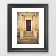 Siracusa Framed Art Print