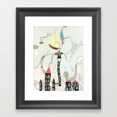 Desire creates the power. Framed Art Print