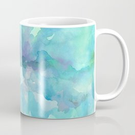 Breathing Under Water (Ocean Clouds) Coffee Mug