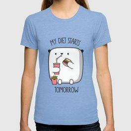 MY DIET STARS TOMORROW T-shirt