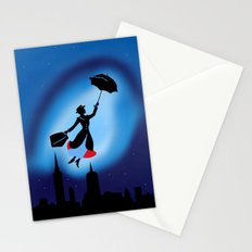 Magical night : Mary Poppins Stationery Cards