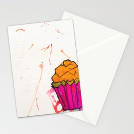Cupcake. Stationery Cards
