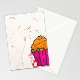 Cupcake. Stationery Cards
