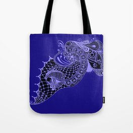 Royal Peacock Tote Bag