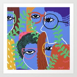 them eyes Art Print