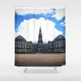 Unstable Weather Shower Curtain