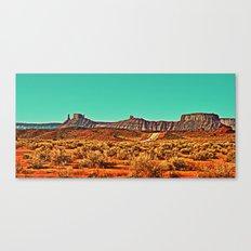 Long Road West Canvas Print