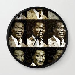 Jazz Heroes Series - Nat King Cole Wall Clock