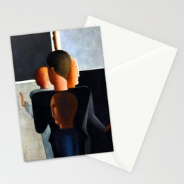 Oskar Schlemmer Concentric Group Stationery Cards