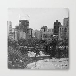 SÃO PAULO Metal Print